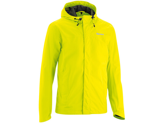 Gonso Save Light Chaqueta Lluvia Hombre, safety yellow
